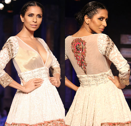 Candice Pinto for Manish Malhotra