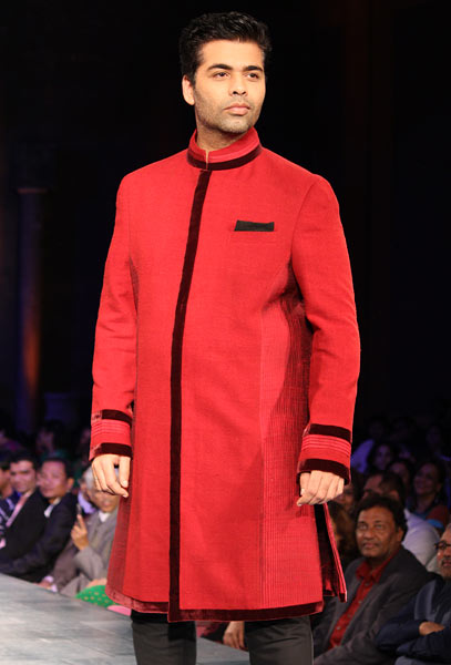 Karan Johar for Manish Malhotra