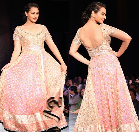 Sonakshi Sinha for Manish Malhotra