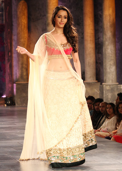 Shraddha Kapoor for Manish Malhotra