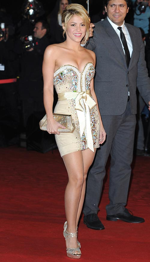 Colombian sensation Shakira lives in Barcelona