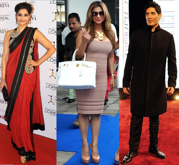 Sonam Kapoor, Ramona Narang Rodella and Manish Malhotra are among Mumbai's hottest fashionistas
