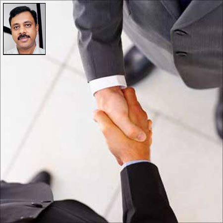 L Prabhakar (inset) feels that the ability to engage with clients is crucial for an HR manager