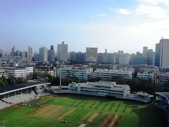 A bird's eye view around Brabourne Stadium