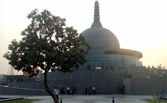 Buddha Memorial Park in Patna