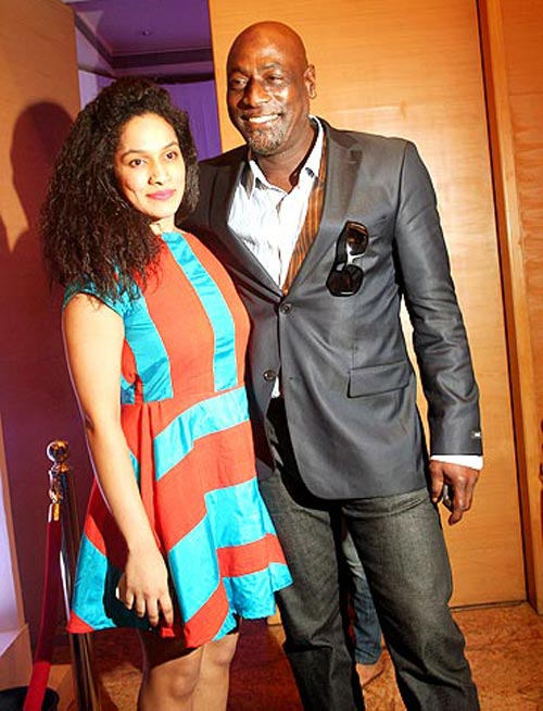 Masaba Gupta with her father Sir Vivian Richards