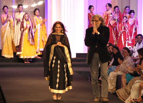 Meera and Muzaffar Ali