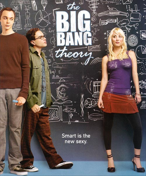 Promotional still for sitcom 'The Big Bang Theory'