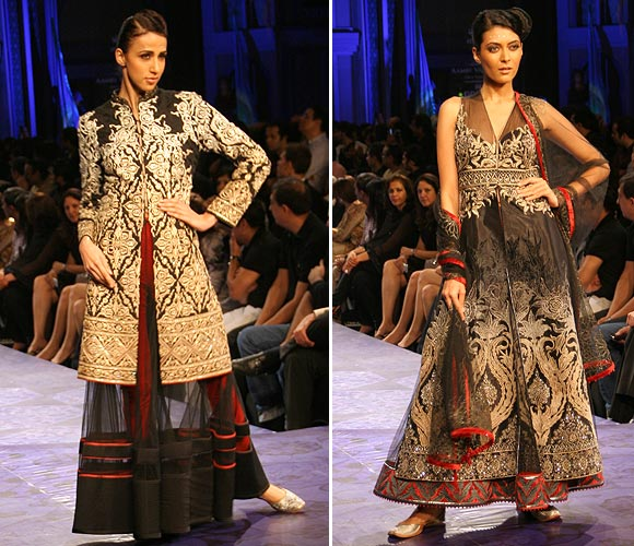 Alesia Raut and Shriya Kishore for JJ Valaya