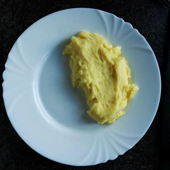 Baked or mashed potato