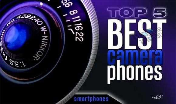 IN PICS: Top 5 camera smartphones