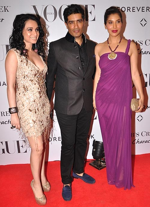 Sheetal Mafatlal, Manish Malhotra and Sophie Chaudhary