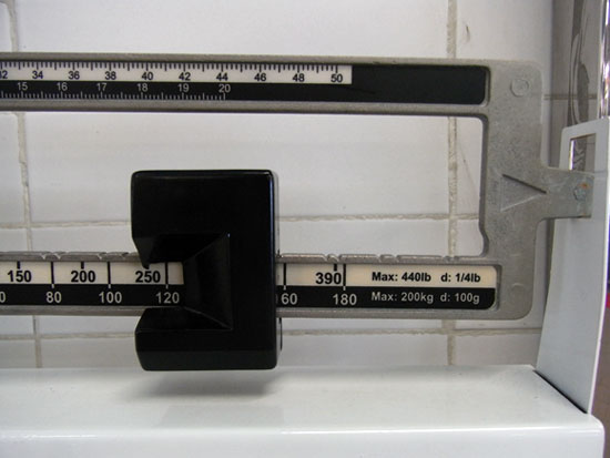 Are you weighing yourself too often?