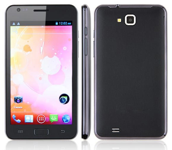 MTS 4-inch Dual SIM Android phone