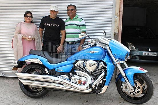 Salman's latest superbike: The Suzuki Intruder M1800RZ!