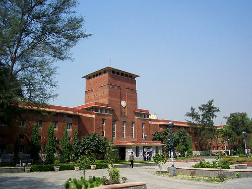 The University of Delhi main building
