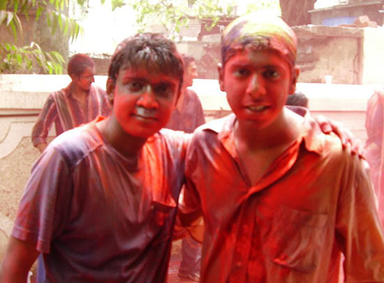 'My most colourful Holi'