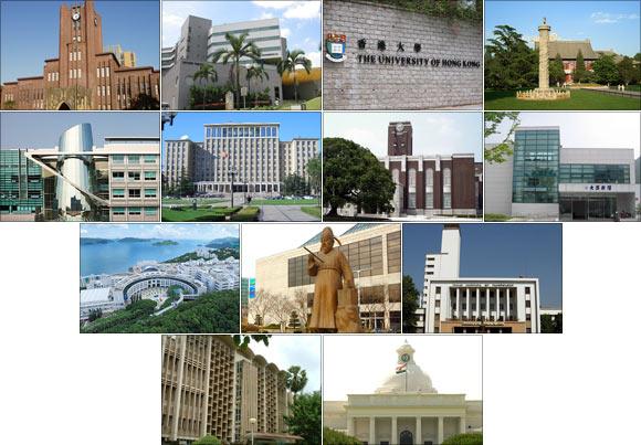 Asia's top 100 universities