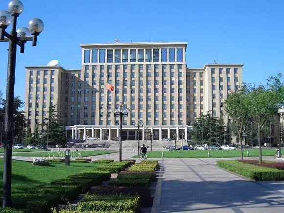 The main administration building in Beijing, China built in the 1950s