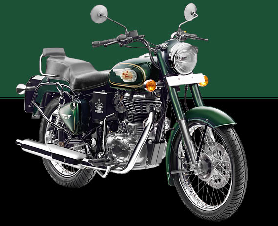 in pics the brand new royal enfield bullet 500 rediff getahead. Black Bedroom Furniture Sets. Home Design Ideas
