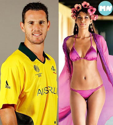Shaun Tait and Mashoom Singha