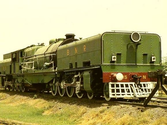 A Beyer Garratt built in Manchester by Beyer Peacock & Co Ltd found a place of price at the National Rail Museum in New Delhi.