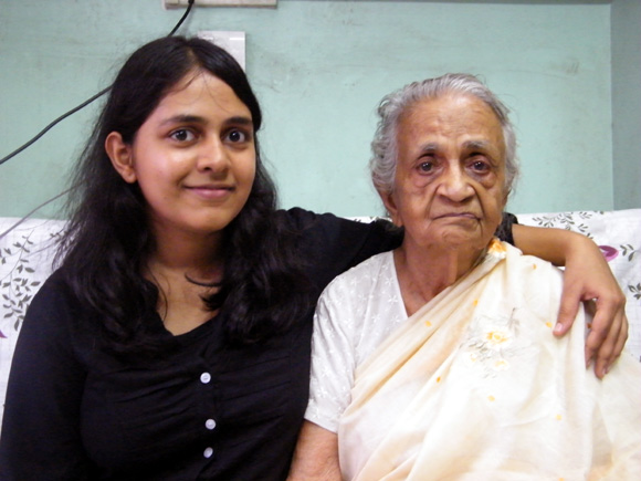 Ashwini shares a special relationship with her paternal grandmother, an ex-professor of botany