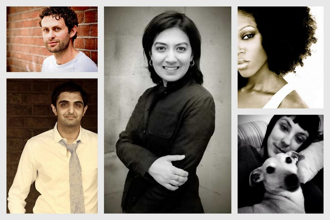 (Clockwise from top left) Ross Raisin, Tahmima Anam, Taiye Selasi, Evie Wyld and Sunjeev Sahota are among the 20 in the list