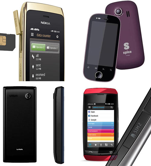 Top 5 dual SIM feature phones