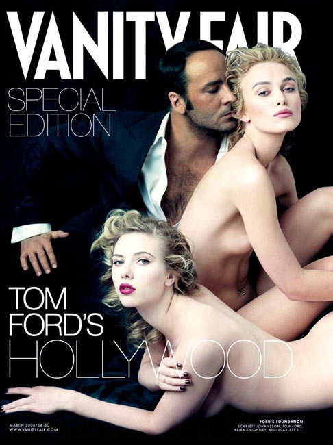 Scarlett Johansson, Tom Ford and Keira Knightley