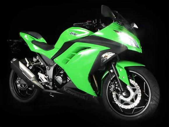 PICS: Kawasaki's spanking new Ninja 300