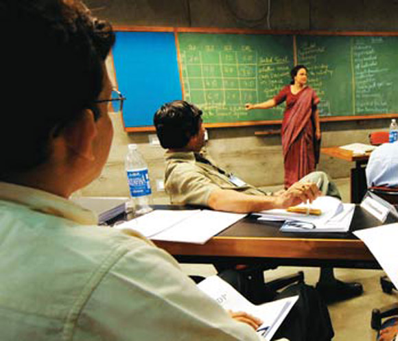 There is no data on the quality of professors teaching at the IIMs