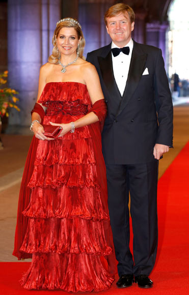 Princess Maxima and Crown Prince Willem-Alexander of the Netherlands
