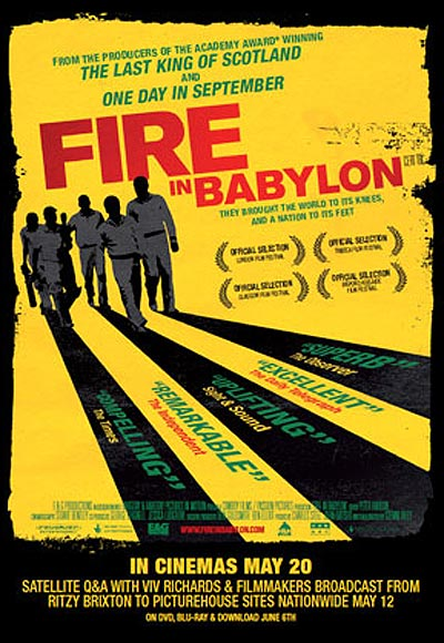 Poster of Fire in Babylon