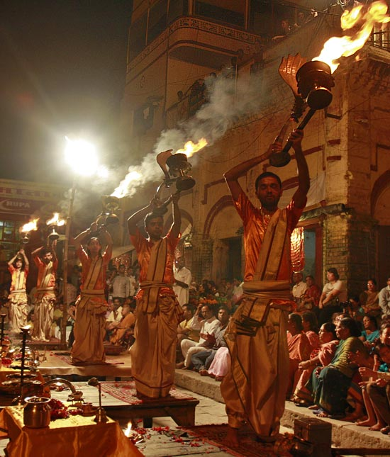 Attend the Ganga Aarti