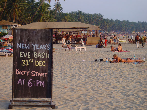Celebrate Christmas and New Year's Eve in Goa