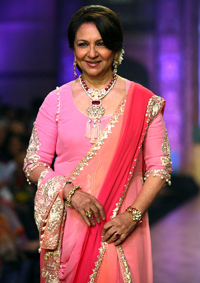 Sharmila Tagore for Birdichand Ghanshyamdas Jewellers
