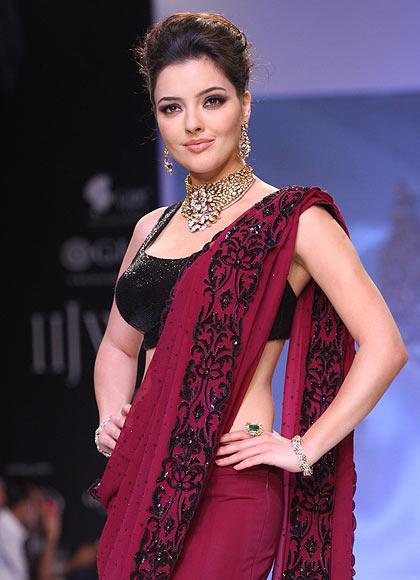 Kristina Akheeva for D Navinchandra Exports