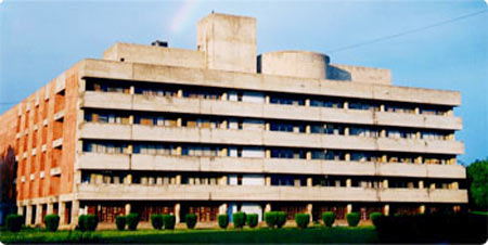The Panjab University library