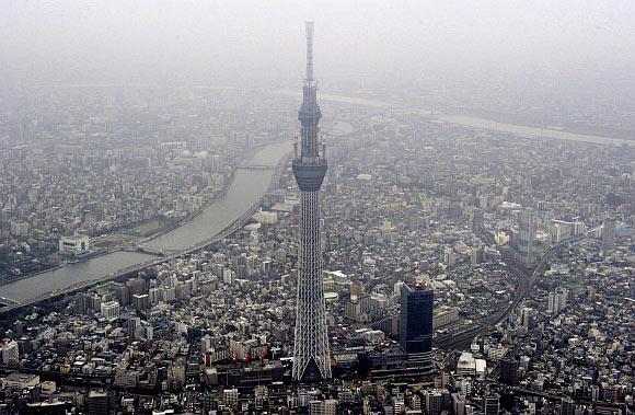 The Tokyo Sky Tree, Japan