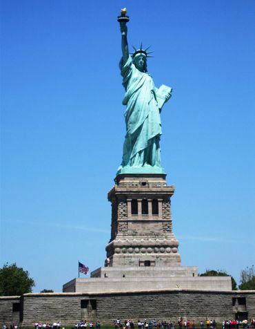 The Statue of Liberty, USA