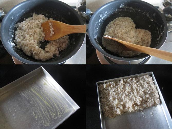 Naral Barfi ( Coconut Barfi)