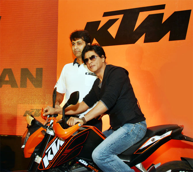 Why Shah Rukh Khan waited 45 years to ride a bike