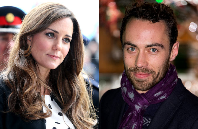 Catherine, Duchess of Cambridge and James Middleton