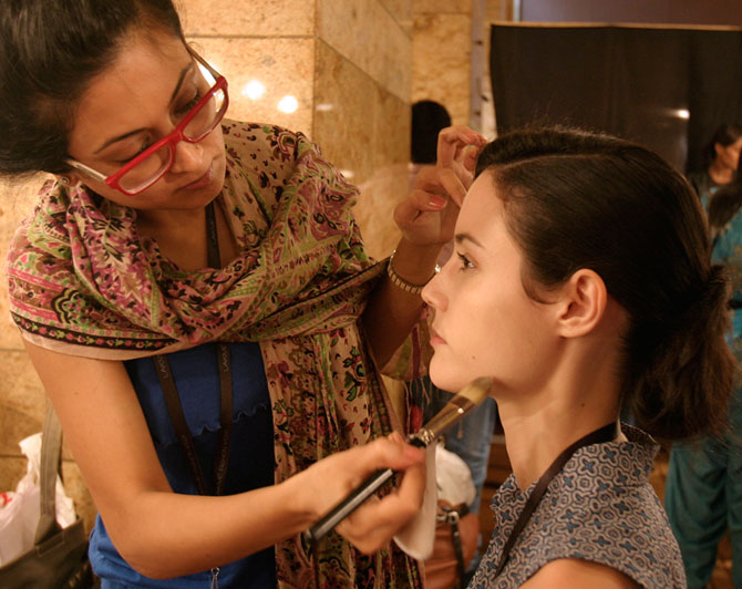 PICS: What really goes on behind the scenes at LFW!