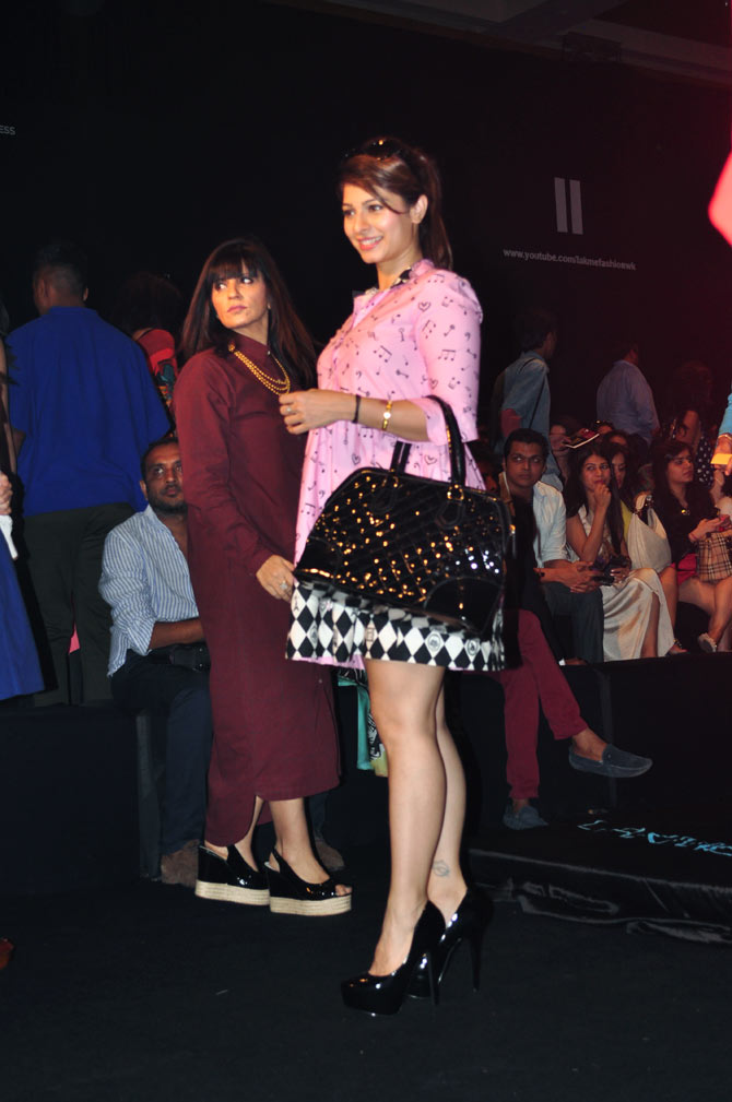 SPOTTED: Kalki, Genelia, Tanisha and Richa at LFW