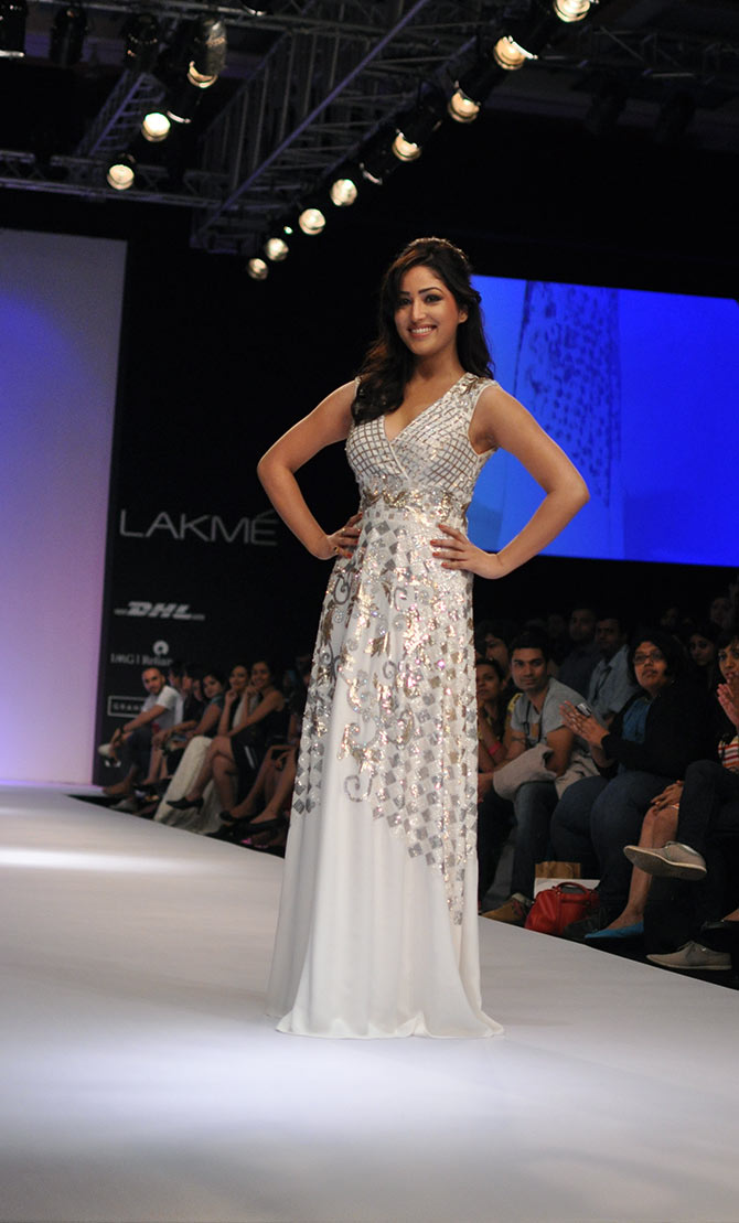Yami Gautam was the showstopper for Ranna Gill