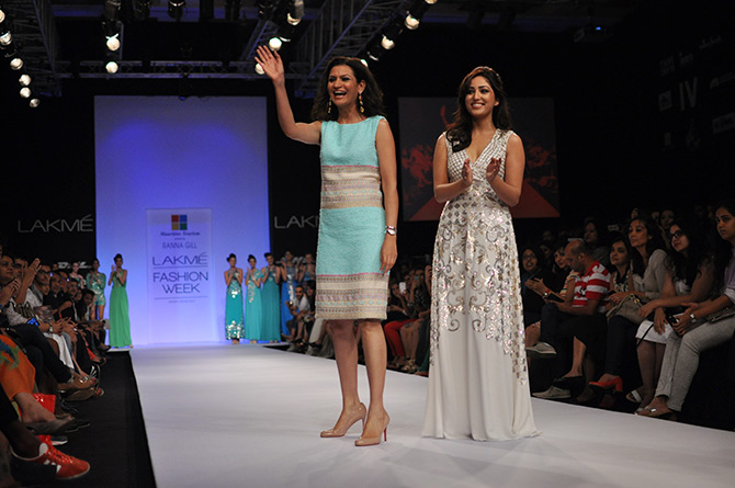 Ranna Gill with showstopper Yami Gautam