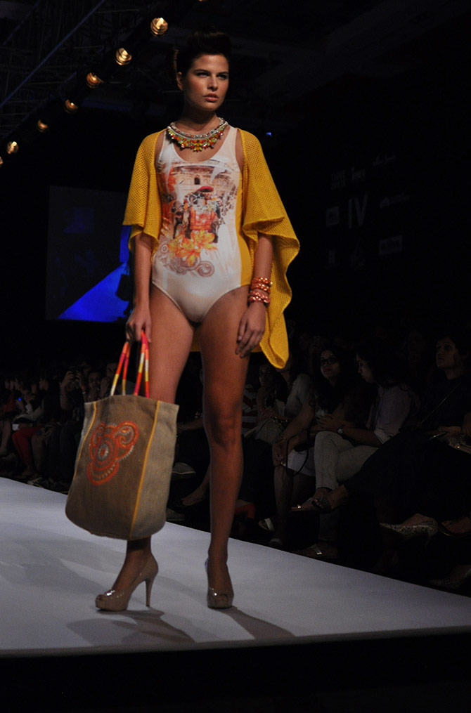 A beachwear creation by Ranna Gill