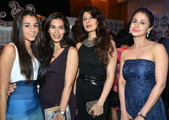 Pooja Chopra, Namata Barua, Sangeeta Bijlani and Urmila Matondkar